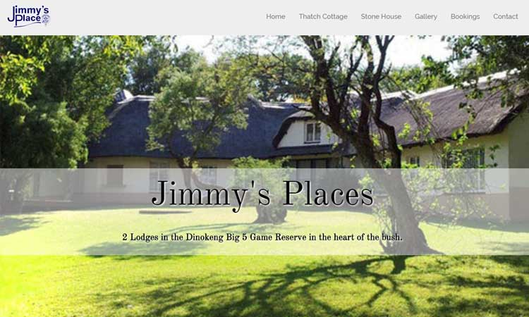 Mobile Friendly website design packages - Jimmy's Place